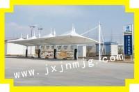 G45大广高速充电桩停车棚已完工