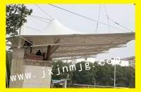 南昌大学人民武装学院膜结构看台已完工